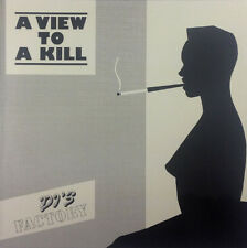 """DJ 's Factory-A View to a Kill - 12"""" maxi-k1049-washed & cleaned"""