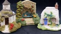 Lilliput Lane ENGLISH COTTAGES 3 Miniatures GREAT CONDITION