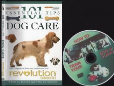 101 ESSENTIAL TIPS DOG CARE Owner Handbook + FREE BONUS Training DVD