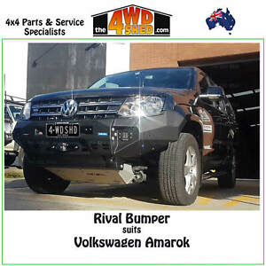Rival Bumper Bull Bar suit Volkswagen Amarok 2011 - Onwards Drivetech 4x4