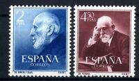Sellos de España 1952 Ramon y Cajal y Ferran 1119-1120  sellos Nuevos