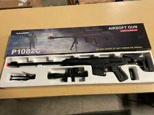 Broken UKARMS Spring Powered Airsoft BB Gun Sniper Rifle Black P1082C