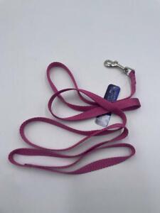 """Mirage Pet Products Plain Nylon Pet Leash, 5/8"""" x 6', Rose"""