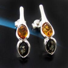 Bernstein Silber 925 Ohrringe Damen schmuck Sterlingsilber S90