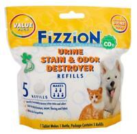 Fizzion URINE DESTROYER Pet Stain & Odor Remover Dog Cat Urine (5 Tablet Bag)