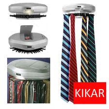 Electronic Neck Tie Organiser Automatic Revolving Mens Belt Watch Scarf Hanger