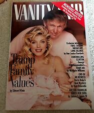 3 Issues Of Vanity Fair Magazine With DONALD TRUMP,  1987, 1992, 1994. History!