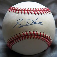 Gordie Howe Signed Rawlings Official National League Baseball JSA AUTO Red Wings