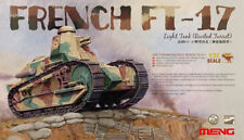 Mngts - 011-Meng Model 1:35 - French FT-17 Light Tank (Riveted Turret)