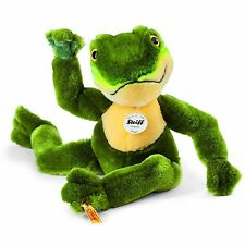 STEIFF®  064586  Froggy Schlenker Frosch, 30 cm, grün/gelb NEU unbespielt