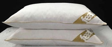 LUXURY GOOSE FEATHER AND DOWN 85% GOOSE & 15% DOWN 250 THREAD COUNT PILLOW PAIR