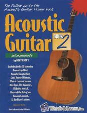 Acoustic Guitar Book 2 Intermediate TAB Music Book/CD Learn How to Play Method