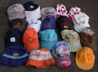 Lot 16 chapeaux  CASQUETTE & 2 BOB Renault Desperados Orangina Agf etc...