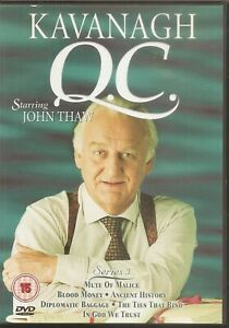 Kavanagh Q.C. - The Complete Series 3 - Episodes 1 To 6 - John Thaw (DVD, 2004)