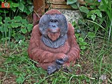 More details for male orangutan figure. very life like home or garden ornament. vivid arts size d