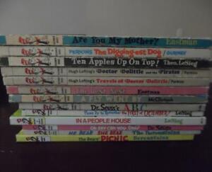 Vintage Lot 13 DR SEUSS Books