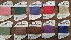 Rainbow Tweed  by  Rainbow Gallery Embroidery Thread     Choose your Color