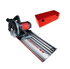 Mafell KSS 400 Cross Cutting Saw with Guide Rail in Metal Carrying Case - 110V