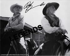 LONESOME DOVE -  Robert Duvall Autographed Copy & Tommy Lee Jones   DOVE-05
