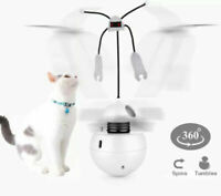 Automatic Laser Cat Toy Interactive Spinning Sound Stimulating Exercise Tumbler