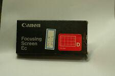 canon focusing screen EC D EOS-1 EOS-31V, 1VHS, 1N, 1NRS, 1NHS, 1,1HS,3, 1DsMk