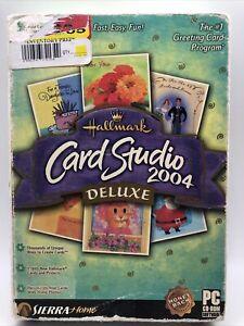 Hallmark Card Studio 2004 Deluxe PC CD ROM B261 Sealed
