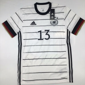 Adidas Germany Home Jersey 2020 #13 Muller Euros White New with Tags S-M-L
