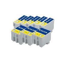 8 X Druckerpatronen für EPSON STYLUS C42 C44 C46 TOP SET (kein original Epson)