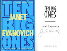 Janet Evanovich SIGNED AUTOGRAPHED Ten Big Ones HC *Stephanie Plum* 1st Ed/1st