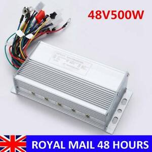 36/48V 500W Electric Bicycle E-bike Scooter Brushless DC Motor Speed Controller