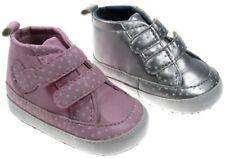 Soft Touch chaussures bébé basket montante rose ou argentée  fille 0 à12 mois