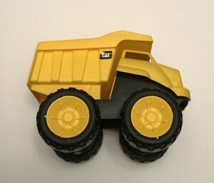 Yellow CAT Dump Truck Toy Construction Vehicle by Toy State Toddler Kids