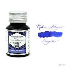 Rohrer & Klingner 50 ml Bottle Fountain Pen Ink, Konigsblau (Royal Blue)