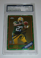PACKERS Eddie Lacy signed 2013 Topps Chrome Rookie card AUTO PSA/DNA Autographed