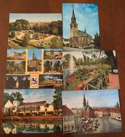 Vintage Postcard Lot Zweibrucken, Germany Metz Unused Postcards Rose Garden
