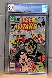 TEEN TITANS #48 CGC 9.4 NM (Jun 1977) #3756875023 - 1st App of Bumblebee