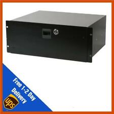 Pulse 19inch 4u Locking Rack Drawers - Studio Storage, Microphone Storage & PA