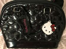 Black EUC Loungefly Loves Hello Kitty Embossed Quilted Purse