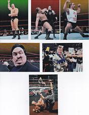 WWF SMACK DOWN CHROMIUM EDITION - COMIC IMAGES 1999 - SET 6 TRADING CARDS - RAR