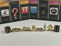 Monopoly Empire Board Game Replacement Pieces Lot of 6 Gold Movers And DICE