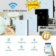 For Amazon Alexa No Neutral Wire Required Smart WiFi Light Switch Voice Control