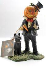 Bethany Lowe Halloween Bruce Elsass Hobgoblin Pumpkin's Night Out Figure