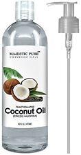 Majestic Pure Fractionated Coconut Oil 16 fl. oz Benefits Moisturizer & Softener