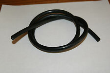 "HONDA SPREE SCOOTER Fuel Line Carb 5mm Drain Vent OIL Hose BLACK 3/16"" 3FT"