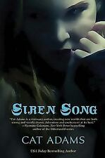 Siren Song - A Blood Singer Novel by Cat Adams SC new