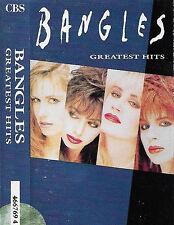 Bangles Greatest Hits CASSETTE ALBUM Pop Rock, Vocal CBS 4667694 UK inc. adv