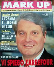1994 RIVISTA 'MARK UP' ANNO I - n° 1 ECONOMIA & POLITICHE DELLA DISTRIBUZIONE