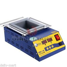 CM118 Square Titanium Alloy Lead-Free Solder Soldering Pot Bath 600W 220V