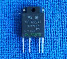 S202S01 SHARP ZIP-4 SIP Type SSR for Medium Power Control