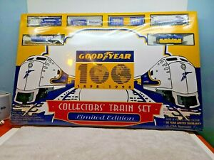 Goodyear 100 Year Anniversary Limited Edition 1998 Train Set HO Factory Sealed